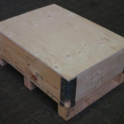 deckel-Holz-Paletten-Aufsatzrahmen